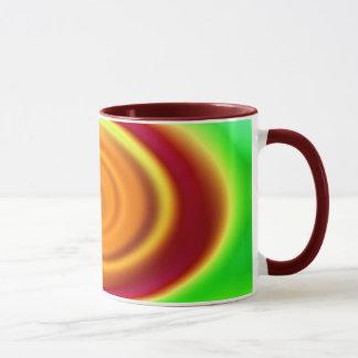 Tasse - Regenbogen-Strudel-abstraktes Muster