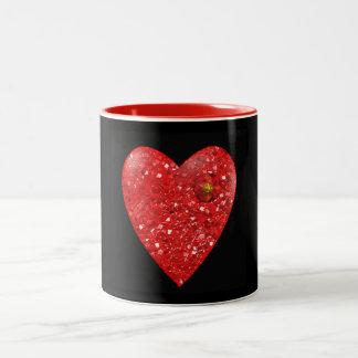 Tasse Rubinherz Valentines Tages