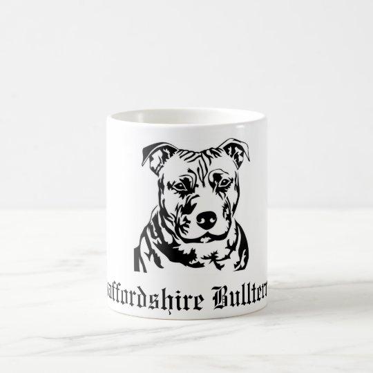 Tasse, Staffordshire Bullt... Kaffeetasse