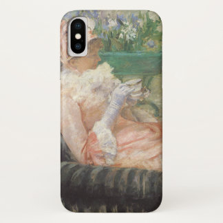 Tasse Tee durch Mary Cassatt, Vintager iPhone X Hülle