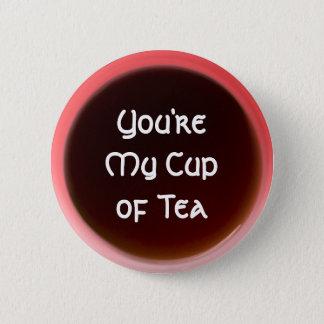 Tasse Tee Runder Button 5,1 Cm
