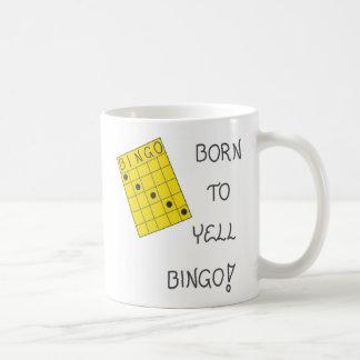 Tasse über Bingo