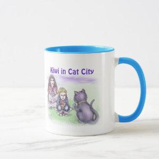 Tasse - unsere Katze kann sprechen! - Kiwi in der
