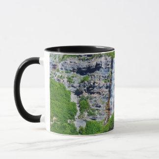 Tasse Utah-Wasserfall-#1b- (wählen Sie Größe u.
