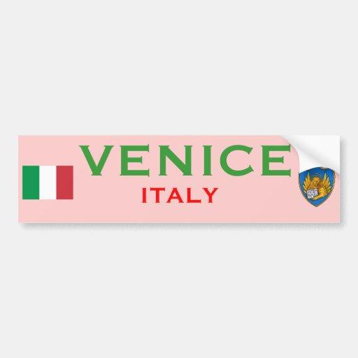 Tasse Venedigs (Italien) Auto Sticker