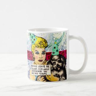 Tasse-Verlassen Sie mich allein Kaffeetasse