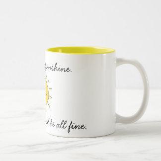 Tasse voll Sonnenschein