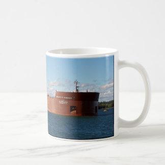 Tasse vollen Bildes James R. Barker Kaffeetasse