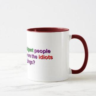 Tasse - warum lassen die Idioten Sachen laufen?