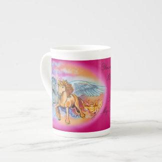 Tasse Wind-und Flammen-Pegasus Unicorn~specialty