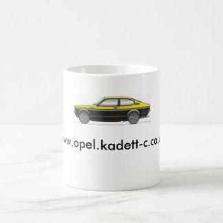 Tasse www.opel.kadett-c.co.uk