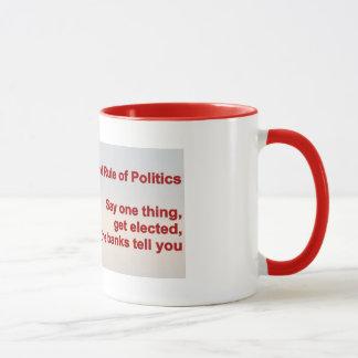 Tasse - zweite Regel der Politik