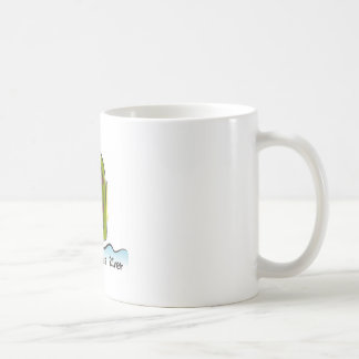 Tassen-Mann mögen Fluss Kaffeetasse