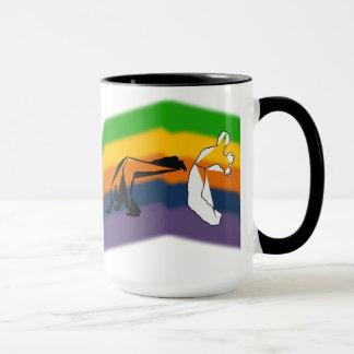 Tassenkaffee capoeira Kriegskunst-Axt roda Tasse