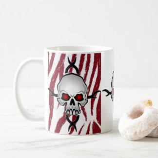 Tassenschädel Kaffeetasse