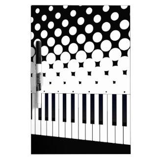 Tastatur-Halbtonbild Memoboard