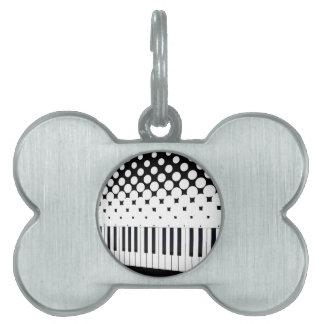 Tastatur-Halbtonbild Tiermarke