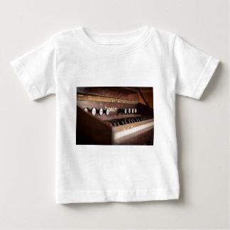 Tastatur-Instrument-Musik altes antikes Polen Baby T-shirt