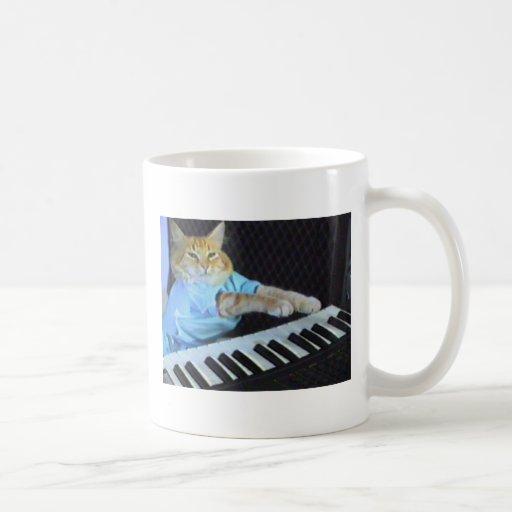 Tastatur-Katze Coffe Tasse!