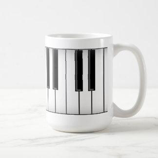 Tastatur-/Klavier-Schlüssel: Kaffeetasse