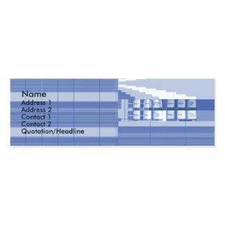 Tastatur-Teil - dünn Mini-Visitenkarten