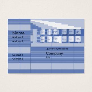 Tastatur-Teil - mollig Visitenkarte