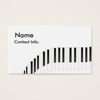 Tastatur Visitenkarte