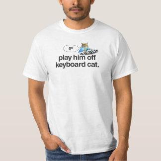 Tastaturkatze gehen Shirt