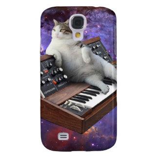 Tastaturkatze - Katze memes - verrückte Katze Galaxy S4 Hülle