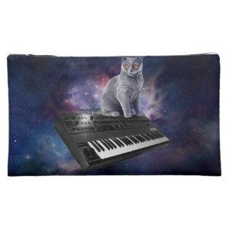Tastaturkatze - Katzenmusik - sperren Sie Katze Kosmetiktasche