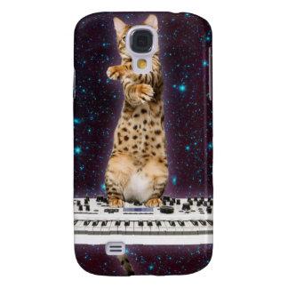Tastaturkatze - lustige Katzen - Katzenliebhaber Galaxy S4 Hülle