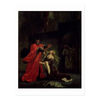 Tat I, Szene 3: Desdemona, das an ihrem Vater knit Postkarte