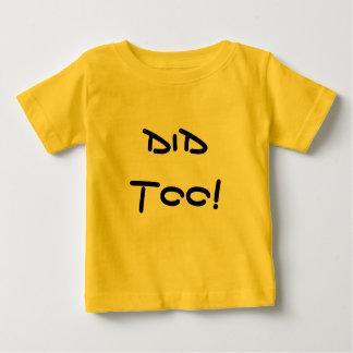 Tat nicht! Tat auch! - Doppelt-stück Baby T-shirt