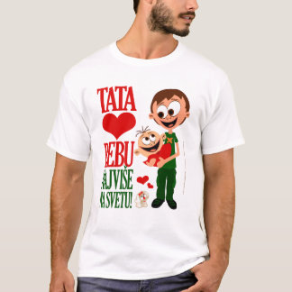 Tata Voli Bebu - Bela 2 T-Shirt