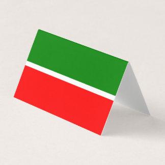 Tatarstan kennzeichnen visitenkarten
