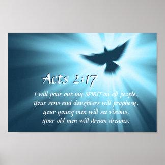 Taten-2:17 gieße ich heraus meinen Geist, Poster