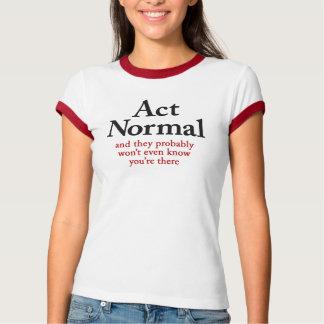 TatNormal, Bella+Leinwand-Wecker-T - Shirt