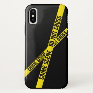 Tatort iPhone X Hülle