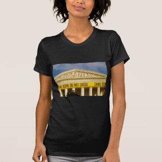 Tatort kreuzt nicht US-Oberstes Gericht T-Shirt