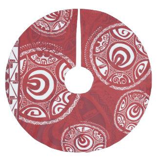 Tatou III Weihnachtsbaum-Rock Polyester Weihnachtsbaumdecke