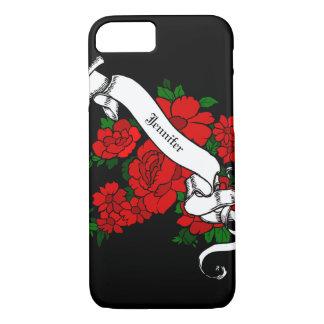 Tätowieren Sie inspiriertes personalisiertes iPhone 8/7 Hülle