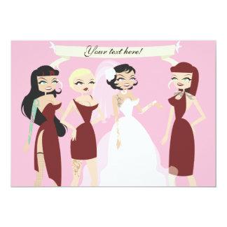 Tätowierte Hochzeit lädt ein Personalisierte Einladungskarten
