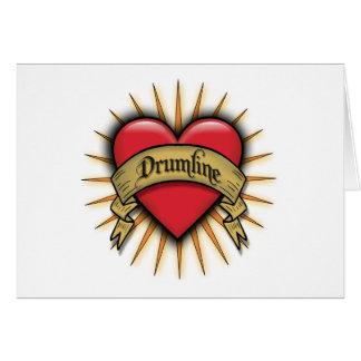 Tätowierung hören Drumline Karte