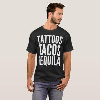 TätowierungenTacostequila-Text-Typografie-T - T-Shirt