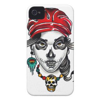 Tätowierungs-Art-Sinti und Roma-Tag des toten iPhone 4 Hüllen