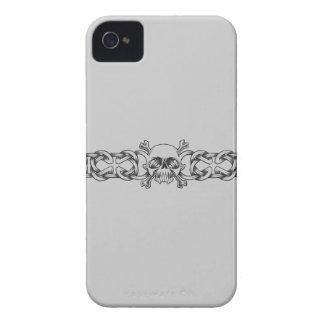 Tätowierungs-BlackBerry-mutiger Kasten iPhone 4 Etuis