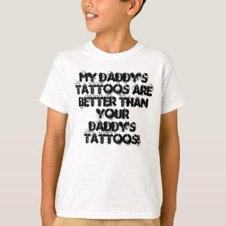 Tätowierungs-Kindert-shirt meines Vatis T-Shirt