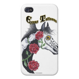 Tätowierungs-Pferd (Equus Tattoous) iPhone 4/4S Cover