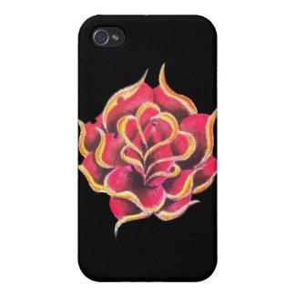 Tätowierungs-Rosecellphone-Kasten iPhone 4/4S Cover