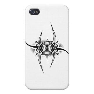Tätowierungs-Stammes- Entwurf iPhone 4/4S Case